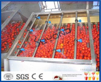 トマトの加工ライン