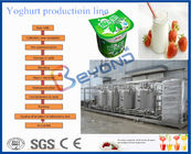 Industrial Type Yogurt Production Equipment , CE Milk Production Machinery