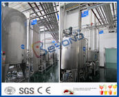 2TPH 5TPH Energy Drink Beverage Production Line With Beverage Filling Equipment