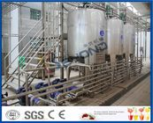 2TPH 5TPH SUS304 SUS316 Full Automatic Milk Dairy Plant With Plastic Bag Package