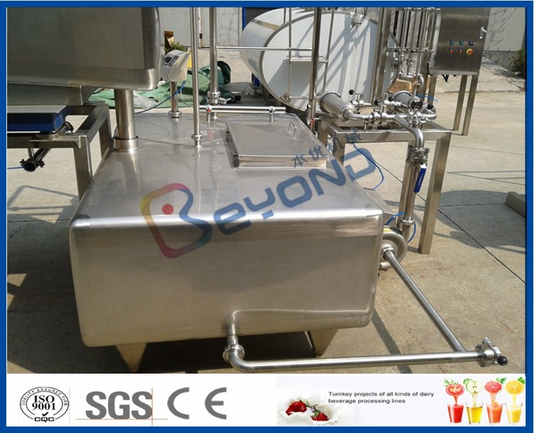 Customized Stainless Steel Tanks  Milk Containers With SUS304 / SUS316L Material