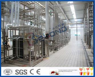 低温殺菌されたUHTミルク/クリーム/バターのための多機能の牛乳生産の機械類