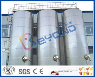 大きい屋外のステンレス鋼の貯蔵タンク/SUS304 SUS316のステンレス鋼の酪農場装置