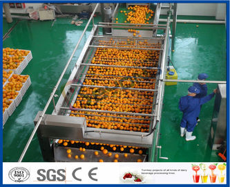 10TPH工場を作るジュースのための自動オレンジ ジュースのエキスのオレンジ加工ライン