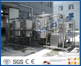 1000L - 設置されているシステム、4つのタンク二重回路とのCipシステム酪農業をきれいにする10000L