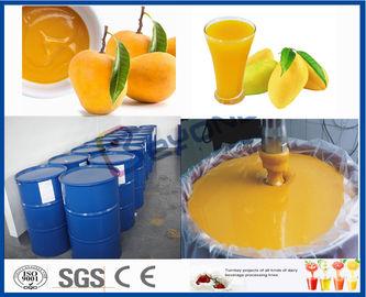 ジュースの製造プラントのためのフルーツ プロセッサ機械マンゴの加工ライン