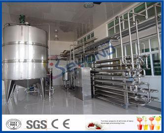ミルクの製造プラントのための無菌プロシージャのミルクの低温殺菌装置